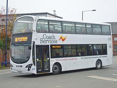 DSCF9775 Coach Services CS63 BUS in Bury St. Edmunds - 19 Sep 2017