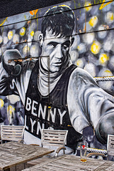 Benny Lynch Mural