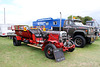 Well oiled tractor co ~ Vintage  display ~ Lincoln showground