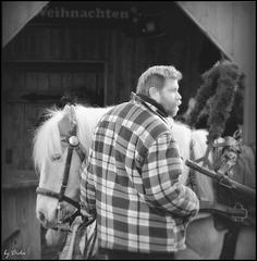 ...ein Mann und sein Pony - a man and his pony..