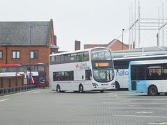DSCF9774 Coach Services CS63 BUS in Bury St. Edmunds - 19 Sep 2017