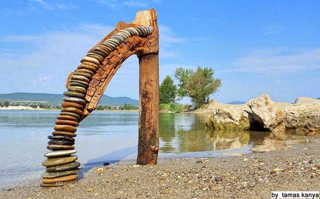 Driftwood art from Hungary by tamas kanya