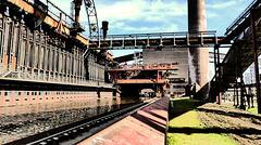 Die Kokerei der Zeche Zollverein