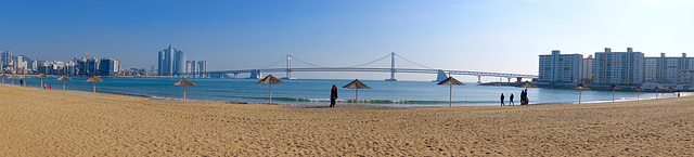 Gwangan Bridge, Busan