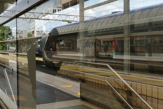 Transparences et réflexions ferroviaires