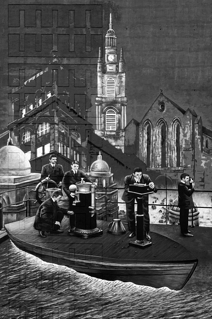 Land-Ship Mural