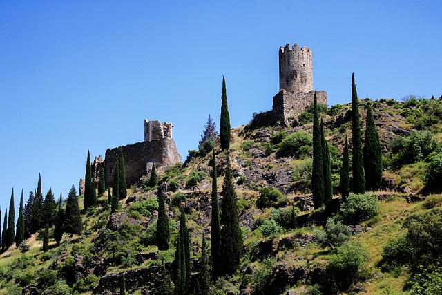 Lastours: The Castles 'Tour Regine' and 'Cabaret'