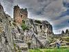 Reste der Burg Regenstein