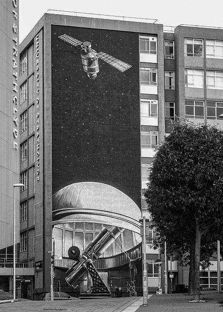 Dansken Equatorial Telescope Mural