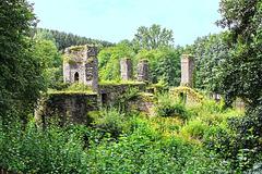 Lindlar, Wasserburgruine Eibach