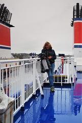 Boat to Ireland - Many Fences there!
