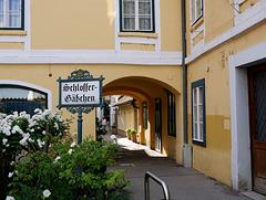 Baden, Schlossergäßchen   /   Locksmiths lane