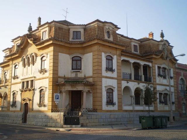 Ancient building.