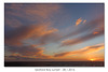 Seaford Bay Sunset - 28.01.2016