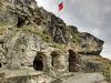 Auf dem Gelände der Festung Regenstein