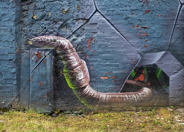 Worm Mural