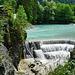 Der Lechfall bei Füssen - The Lechfall nearby Fuessen - mit PiP