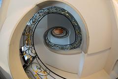 Treppenhaus im Rosenhof