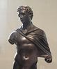 Detail of a Bronze Statuette of Hermes in the Metropolitan Museum of Art, April 2017