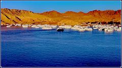 SHARM EL-SHEIK : un grande porto turistico naturale per barche e navi da crociera