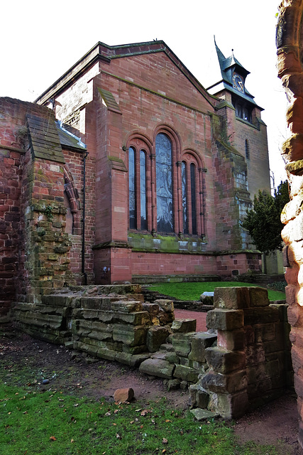 st john the baptist, chester