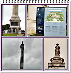 Photos de la Colonne de la Grande Armée à Boulogne sur Mer ( sous la pluie)