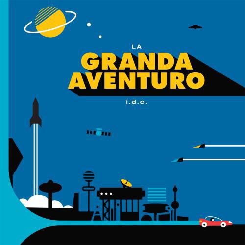 """LP Vinila Disko """"La Granda Aventuro""""  de i.d.c."""