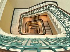 Treppen im Hirschfeldhaus