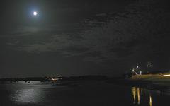 Full Moon over Langstone