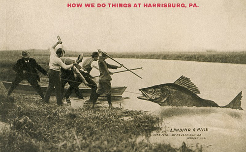 Landing a Pike—How We Do Things at Harrisburg, Pa.