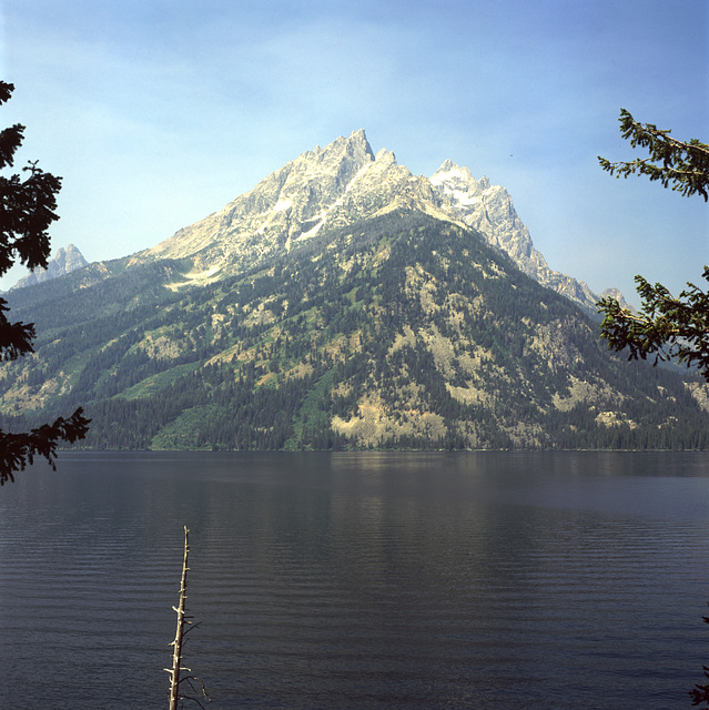 Grand Tetons across Lake Jenny