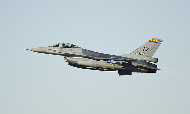 Royal Netherlands Air Force General Dynamics F-16A Fighting Falcon J-018