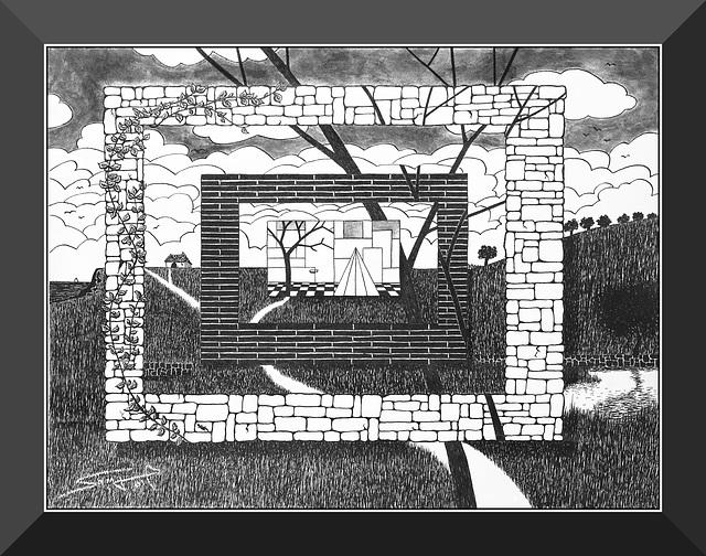 Paysage composite (2001)