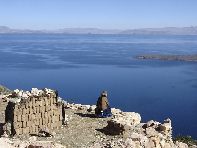 Lac Titicaca : Contemplation