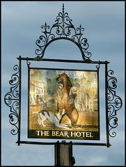 Bear Hotel pub sign
