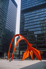 Chicago - Calder's Flamingo - 1986
