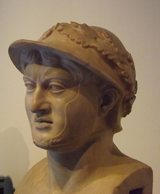 Pyrrhus in the Villa dei Papiri in the Naples Archaeological Museum, June 2013