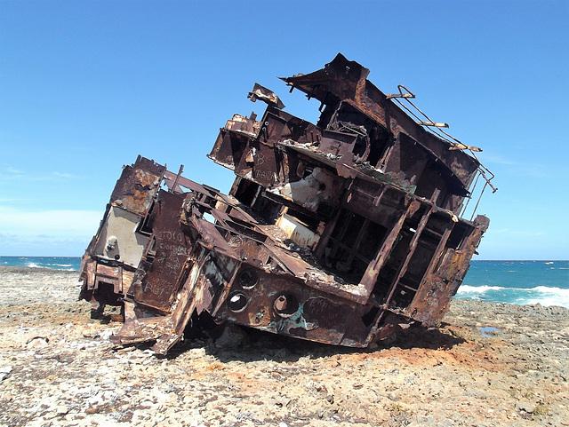 Épaves de plage / Beach's wreck