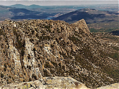 La Sierra de La Cabrera, eastern end.