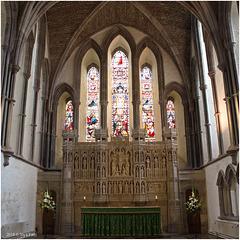 Brecon Cathedral interior