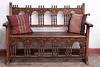 Ornate bench