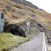 Tunnel through the spoil heap