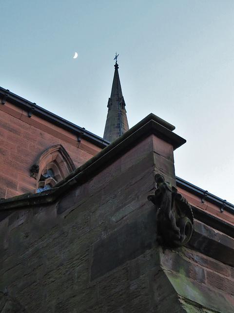 holy trinity church, chester