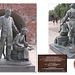 Emigrants to America statue Old Portsmouth 11 7 2019