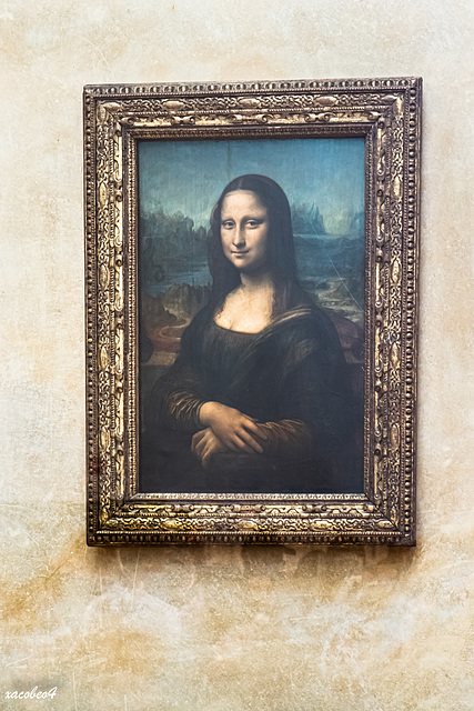 Mona Lisa-Italian- Monna Lisa, Italian- La Gioconda-Artist-Leonardo da Vinci-Year-c. 1503–1506, perhaps continuing until c. 1517-Medium-Oil oLa Gioconda --Location-The Louvre