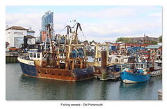 Fishing vessels Old Portsmouth 11 7 2019