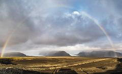 Skaftafell rainbow (PiP)