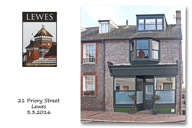 21 Priory Street - Lewes - 3.3.2016