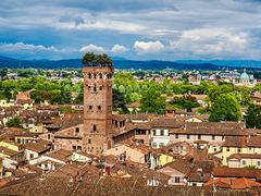 Lucca, Torre Guinigi, Toscana