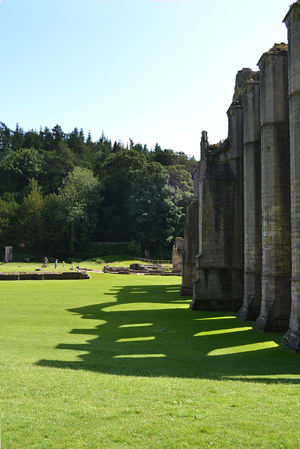 Fountains Abbey West Riding